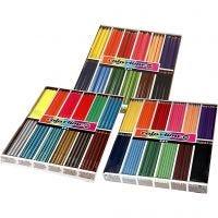 Colortime kleurpotloden, diverse kleuren, 576 stuk/ 1 doos