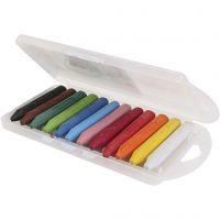 PRIMO wax krijtjes, diverse kleuren, 5x12 stuk/ 1 doos