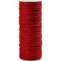 Papiergaren, dikte 1,8 mm, rood, 470 m/ 1 rol, 250 gr
