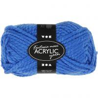 Fantasia acrylgaren, L: 35 m, afm maxi , blauw, 50 gr/ 1 bol