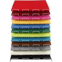 Hobbyvilt, 42x60 cm, dikte 3 mm, diverse kleuren, 120 vel/ 1 doos