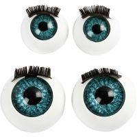 Grote ogen, d: 12+17 mm, 2x50 stuk/ 1 doos