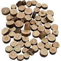 Hout mix, d: 10-15 mm, dikte 5 mm, 230 gr/ 1 doos