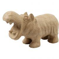 Nijlpaard, H: 18 cm, L: 28 cm, 1 stuk
