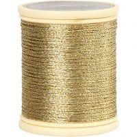 DMC metallic draad, dikte 0,36 mm, goud, 40 m/ 1 rol