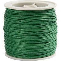 Katoenkoord, dikte 1 mm, groen, 40 m/ 1 rol