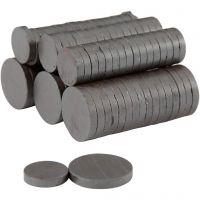 Magneet, d: 14+20 mm, dikte 3 mm, 2x250 stuk/ 1 doos