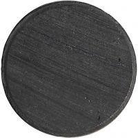 Magneet, d: 20 mm, dikte 3 mm, 50 stuk/ 1 doos