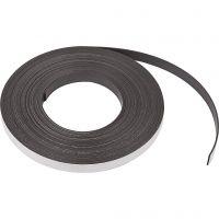 Magnetisch band, B: 12,5 mm, dikte 1,5 mm, 10 m/ 1 doos