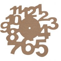 Klok, d: 30 cm, dikte 3 mm, 1 stuk