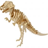 3D Puzzel, dinosaurus, afm 33x8x23 cm, 1 stuk