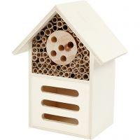 Insecten- en vlinder hotel, H: 18 cm, diepte 9 cm, B: 14 cm, 1 stuk