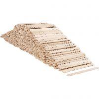 Constructiehoutjes, L: 11,4 cm, B: 10 mm, 1000 stuk/ 1 doos