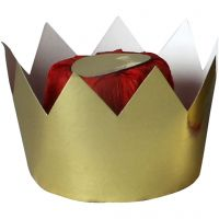Koninginnekroon, H: 7 cm, d: 9 cm, 1 stuk