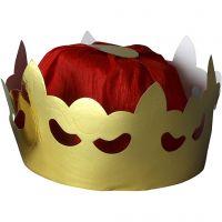 Koningskroon, H: 11 cm, d: 19 cm, 1 stuk