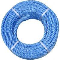 Polypropyleen touw, dikte 6 mm, 20 m/ 1 rol