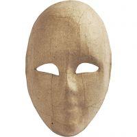 Volledig masker, H: 23 cm, B: 16 cm, 1 stuk