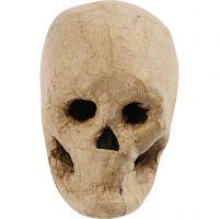 Skelet masker, H: 10 cm, 1 stuk