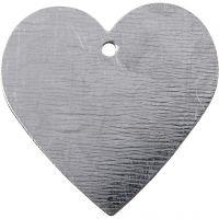 Metalen hart, afm 30x30 mm, 15 stuk/ 1 doos
