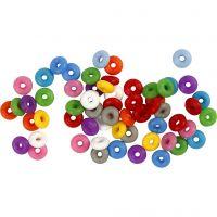 Stop ringen, diverse kleuren, 48 stuk/ 1 doos