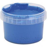PRIMO Vingerverf, blauw, 250 ml/ 1 fles