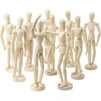 Modellen, H: 29 cm, 10 stuk/ 1 doos