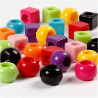 Multi Mix, afm 11 mm, gatgrootte 7 mm, diverse kleuren, 1700 ml/ 1 doos, 1000 gr
