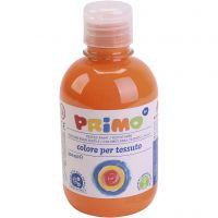 Textielverf, oranje, 300 ml/ 1 fles