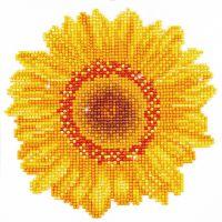 Diamond Dotz, Vrolijke zonnebloem, afm 20x20 cm, 1 doos