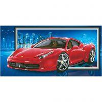Diamond Dotz, Ferrari, afm 40x50 cm, 1 doos