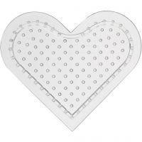 Onderplaat, klein hart, H: 8 cm, 10 stuk/ 1 doos