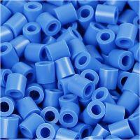Foto kralen, afm 5x5 mm, gatgrootte 2,5 mm, blauw (17), 6000 stuk/ 1 doos