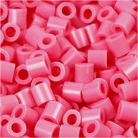 Foto kralen, afm 5x5 mm, gatgrootte 2,5 mm, antiek roze (25), 1100 stuk/ 1 doos