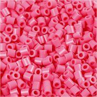 Foto kralen, afm 5x5 mm, gatgrootte 2,5 mm, antiek roze (25), 6000 stuk/ 1 doos