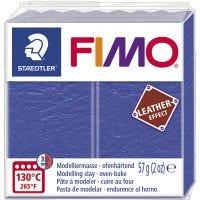 FIMO® Leather Effect , indigo (309), 57 gr/ 1 doos