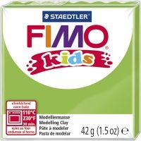 FIMO® Kids boetseerklei, lichtgroen, 42 gr/ 1 doos