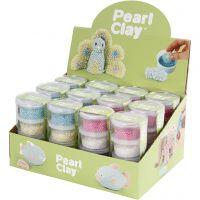 Pearl Clay®, diverse kleuren, 12 set/ 1 doos