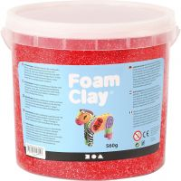 Foam Clay®, rood, 560 gr/ 1 emmer