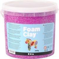 Foam Clay®, neon paars, 560 gr/ 1 emmer