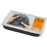 Zelfhardende Klei, zwart, 1000 gr/ 1 doos