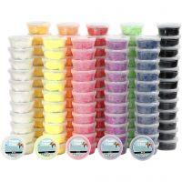 Foam Clay®, diverse kleuren, 10x12 Doosje/ 1 doos