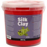 Silk Clay®, rood, 650 gr/ 1 emmer