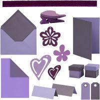 Happy Moments - Kaarten maken, diverse kleuren, 160 eenh./ 1 doos
