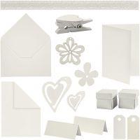 Happy Moments - Kaarten maken, off-white, 160 eenh./ 1 doos