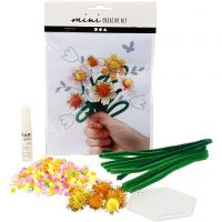 Mini Creative Kit, bloemen, 1 set