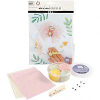 Mini Creative Kit, vlinder levenscyclus, 1 set