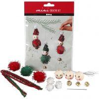 Creative mini kit, hangende decoraties van elven, 1 set
