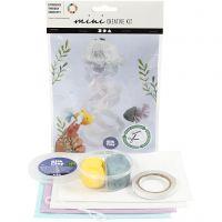Creative mini kit, Kwal en vis, 1 set