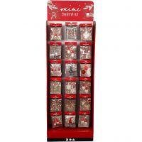 Vloerdisplay met Mini Creative Kits, H: 1500 mm, B: 580 mm, 108 eenh./ 1 doos