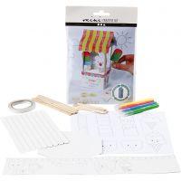 Creative Mini Kit, Melkpak IJssalon, 1 set